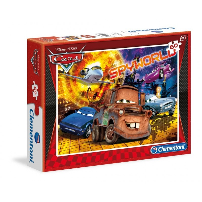 Cars 3 Pussel Kids Special Collection 60 bitar