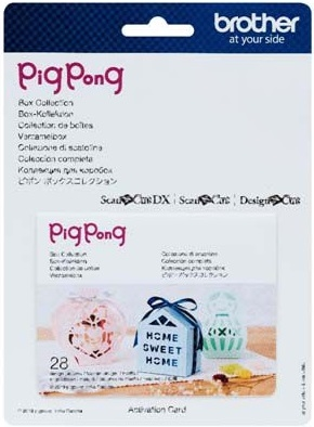 ScanNCut Pig Pong - Box Collection