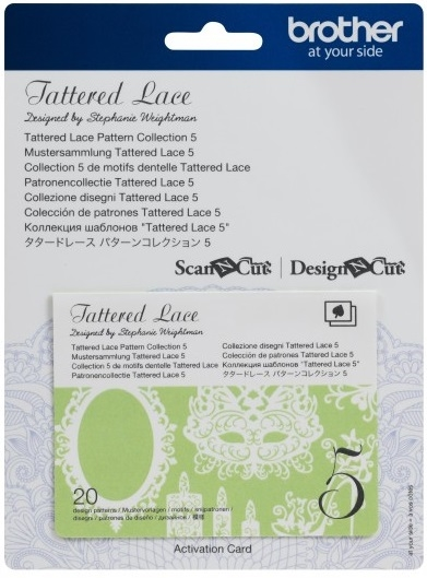 Tattered Lace Pattern 20 Designs - Collection 5
